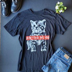 💍Walnut&39th Dont kill my vibe cat shirt